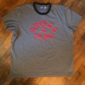 ADIDAS 40th Graphic Women's T-shirt Plus XXL Grey